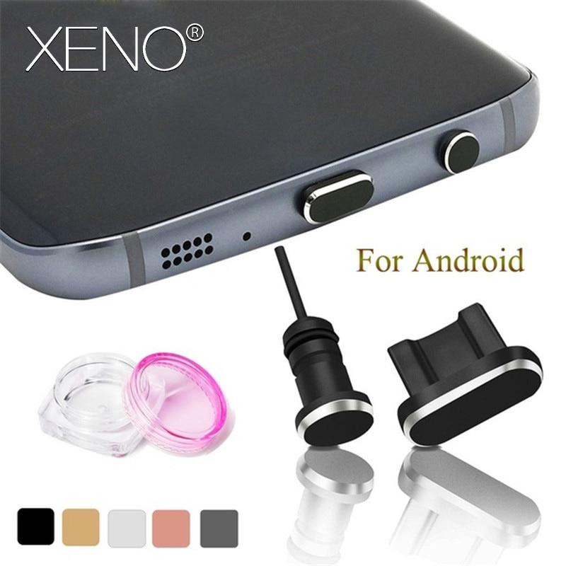 2PCS/Set Dust Plug accessories for Micro USB Mobile Phone 3.5mm IR Port Plug Headset Stopper Metal Charging Port + Earphone Port