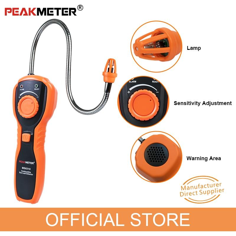 PEAKMETER oficial PM6310 Detector de fugas de gas combustible de alta - Instrumentos de medición - foto 5