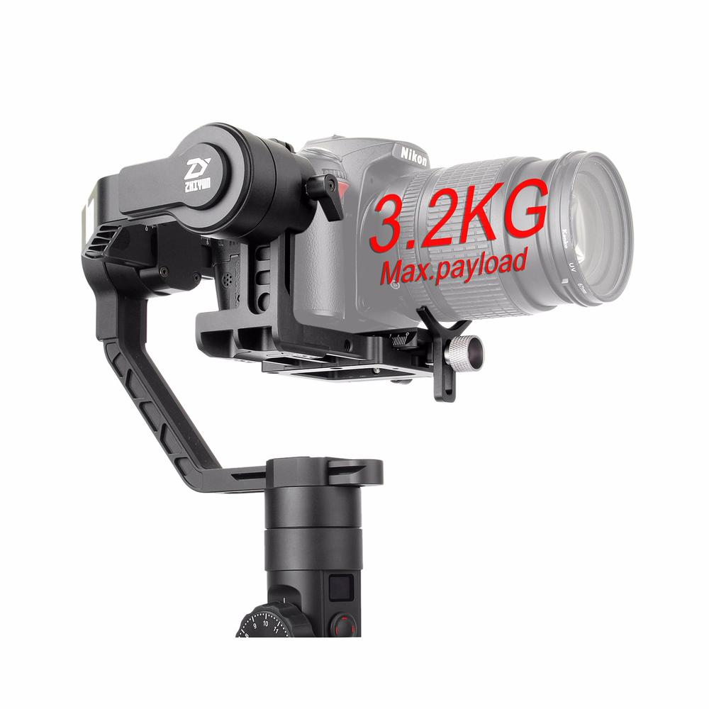 zhi yun Zhiyun Official Crane 2 3-Axis Camera Stabilizer for All Models of DSLR Mirrorless Camera Canon 5D2/5D3/5D4 zhiyun crane m crane m 3 axis brushless handle gimbal stabilizer for smartphone mirroless dslr gopro 125g 650g