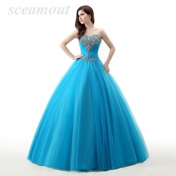 Rhinestones Beaded Quinceanera Dresses Ruffles Sweetheart Neck Custom Sweet 16 Dresses Vestidos de Quince Anos Prom Party Gowns