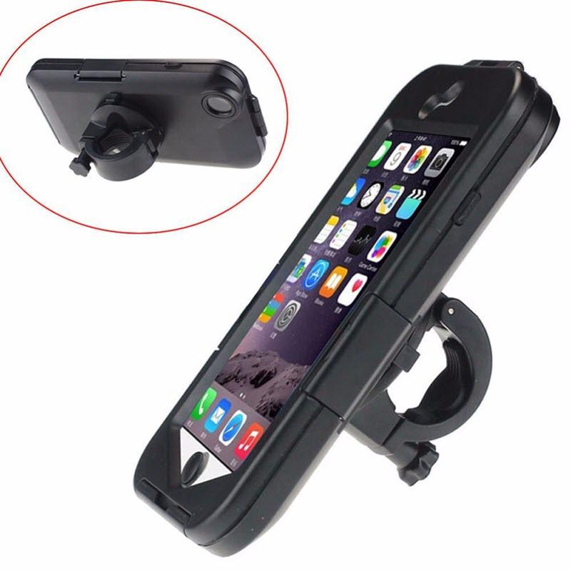 Neue Auto Wasserdichte Motorrad Bike Fahrrad Lenker Montieren Telefon Halter Fall soporte für Apple iPhone 6 6g iphon6 6 s i6 4,7 zoll