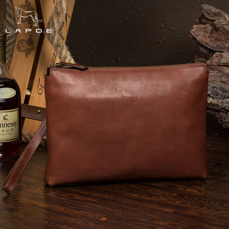 LAPOE New Genuine leather clutch men envelope clutch bag men male business portfolio bag men envelope bags handbags day clutches mz15 mz17 mz20 mz30 mz35 mz40 mz45 mz50 mz60 mz70 one way clutches sprag bearings overrunning clutch cam clutch reducers clutch