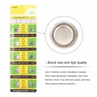50pcs Universal AG3 Button Cell Battery LR41 LR736 392 392A SR41SW CX41 SR736 SR41 Cell Button Watch Button Cell Coin Batteries