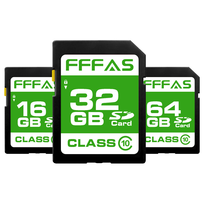 Real capacity  SD Memory Card 8GB/16GB/32GB/64GB/128GB/256gb Class 10 Memoria  SD Card for camera/pc flash card(China)