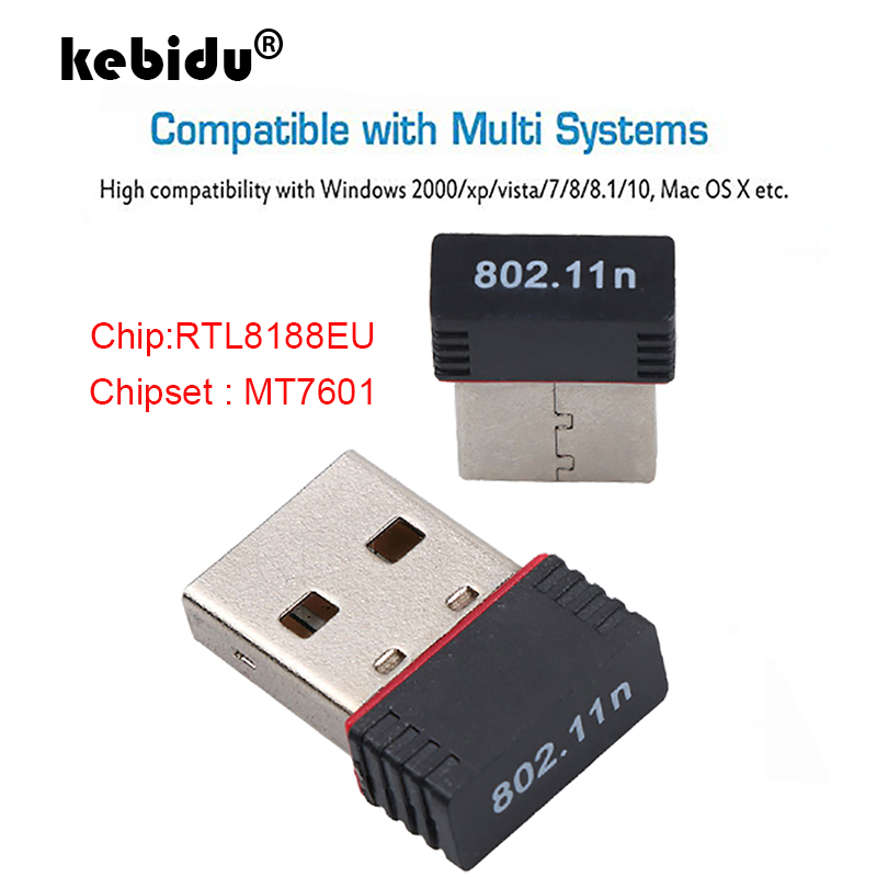 150Mbps USB WiFi Wireless Adapter 802.11n//g//b 150M PC Computer Network LAN Card