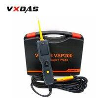 2016 vxdas vsp200 автомобиль супер зонд тестер цепи комплект более мощным, чем autek yd208 autel ps100 автомобиль электрический цепи тестер