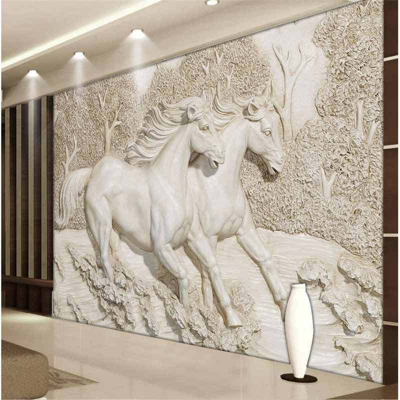 High Quality Running Horses Murals-Buy Cheap Running Horses Murals ...