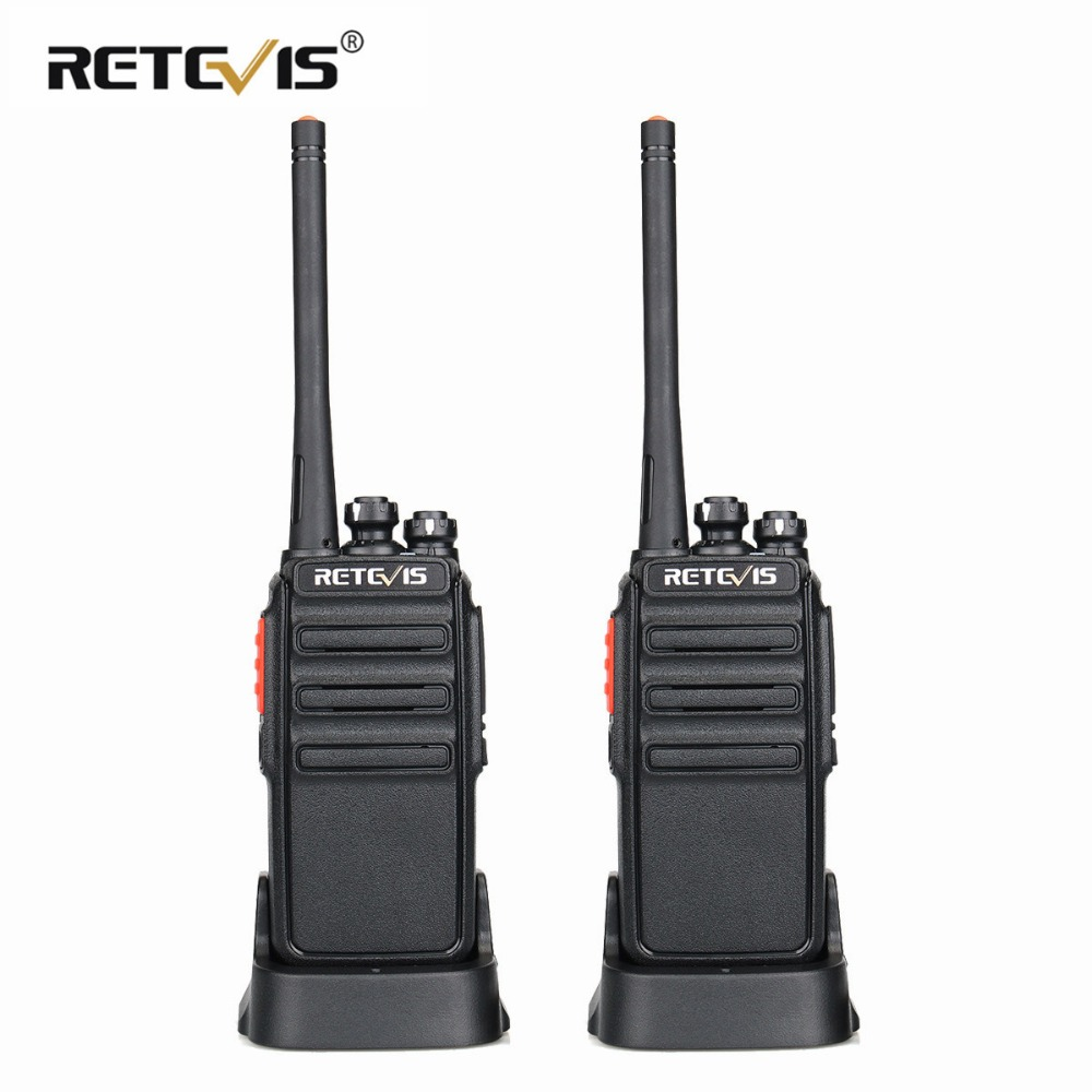 2pcs Retevis RT24 Walkie Talkie 0.5W / 2W UHF 400-470MHz PMR446 - Walkie-talkies