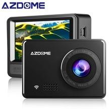"""AZDOME M08 1080 P Super-Condensatore Dash Cam 2.45 """"IPS Videocamera per auto con WiFi WDR Sony Sensor Car Dvr Registratore visione Notturna Dashcam"""