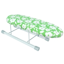New Home Ironing Board Travel Portable Sleeve Cuffs Mini Table With Folding Legs Easy Fitted  Heat Scorch Resistant