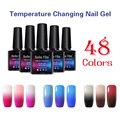 Belle Fille 10ml Gel Polish UV LED Gel Nail Gel Temperature Change Rose Red Color Makeup UV Manicure Magical Varnish