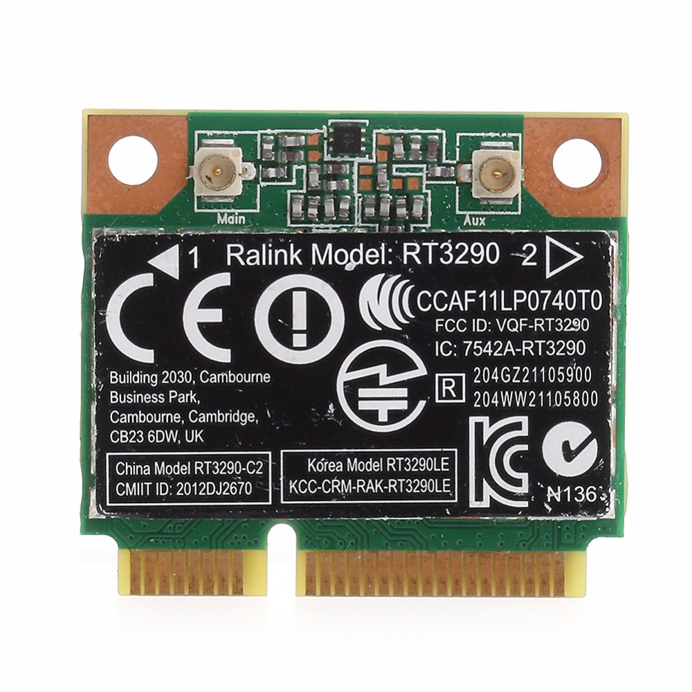150M Wi-Fi Wireless Network Card Bluetooth For RT3290 HP Pavilion G7-2000 Ralink 802.11b/g/n Wifi Adapter C26