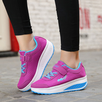 TOP Quality 2017 NEW Women Swing Shoes Fitness Cheap Walking Women Breathable Shoes Zapatos Mujer Running
