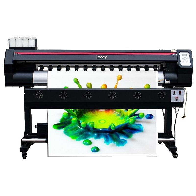 1.6m Locor Wide Format Dye Sublimation Printer Indoor Water Based Ink Printing Machine Inkjet Digital Fabric Textile Plotter