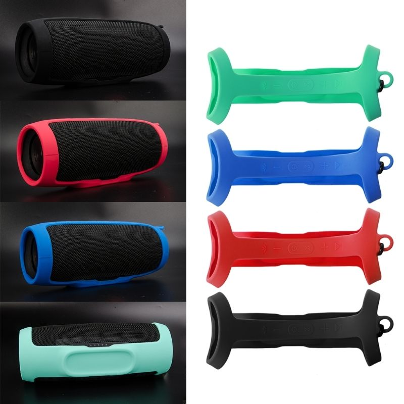 Silicone Cover Case For JBL Charge 3 Portable Spaeaker Soft Protective Cover Shockproof Sleeve Protector For JBL Charge3 Column