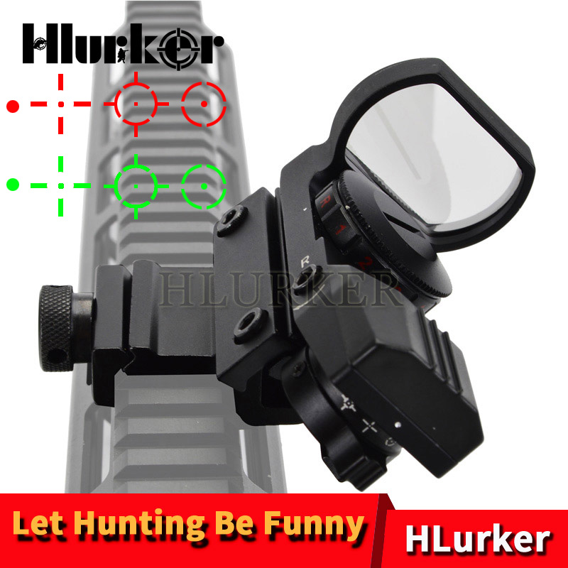 Hunting Airsoft AR15 Caliber Air Gun Riflescope Optical Holographic Collimator Red Dot Rifle Scope Sight Sniper Optics Reddot