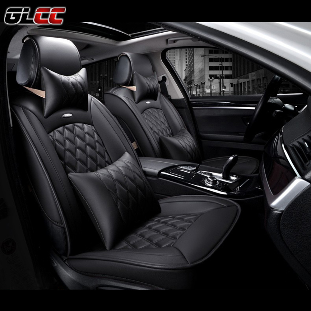 Luxury 3D Full Surround Car Seat Cover PU Leather Covers Cushion Universal Automobiles Accessories Interior