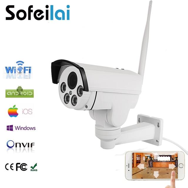 Sofeilai 1080P HD WIFI IP Camera Network Wireless Outdoor Video Surveillance CCTV Security P2P Bullet Cameras Night Vision Onvif