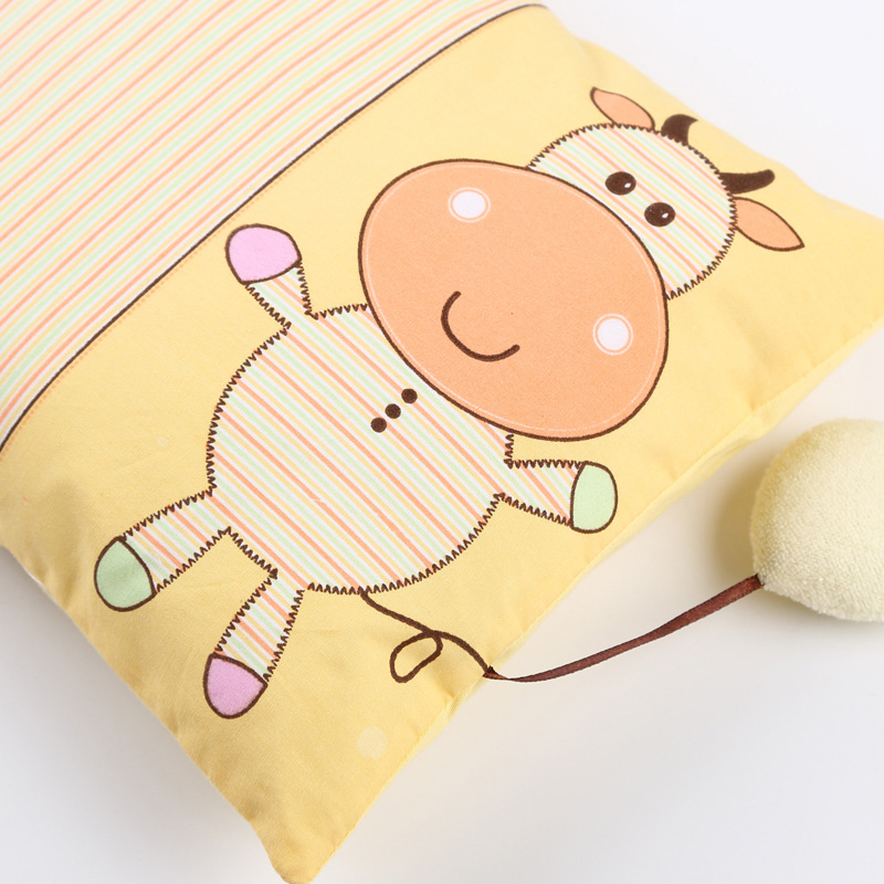 high quality baby pillow infant kindergarten kids cartoon character soft pillow toddler cotton neck protection pillows 0 5year in pillow from mother kids - Toddler Cartoon Characters