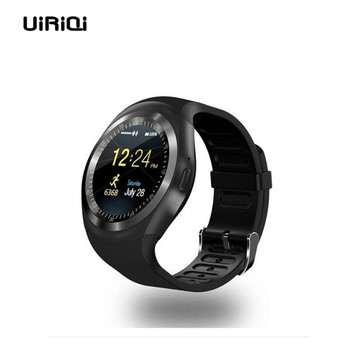 UiRiQi Bluetooth Smart Watch With SIM Card TF Card Port Music Control For Android Mobile Phone Sports Pedometer Sleep Monitor