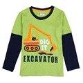 Nova crianças quentes 2016 novos meninos camiseta roupa dos miúdos das crianças dos desenhos animados roupas de marca hiro camisetas meninos roupa do bebê t-shirt