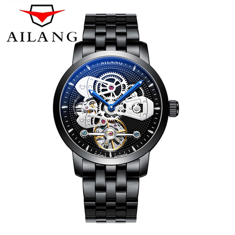 2019 New AILANG Original Mens Watches Top Brand Luxury Automatic Mechanical Watch Skeleton hollow Sport 50M Waterproof Watch2019 New AILANG Original Mens Watches Top Brand Luxury Automatic Mechanical Watch Skeleton hollow Sport 50M Waterproof Watch