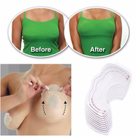 10Pcs/set Female Women Fashion Sexy Instant Breast Lift Up Invisible Bra Tape Strapless Adhesive Backless