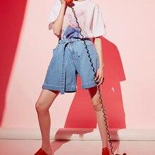 pantalones de cortos azul