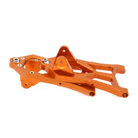 2x Front Lower Suspension Arm For Rc Hobby Model Car 1/5 Hpi Baja L85400 RCAWD RC Spare Parts Suspension a Arm