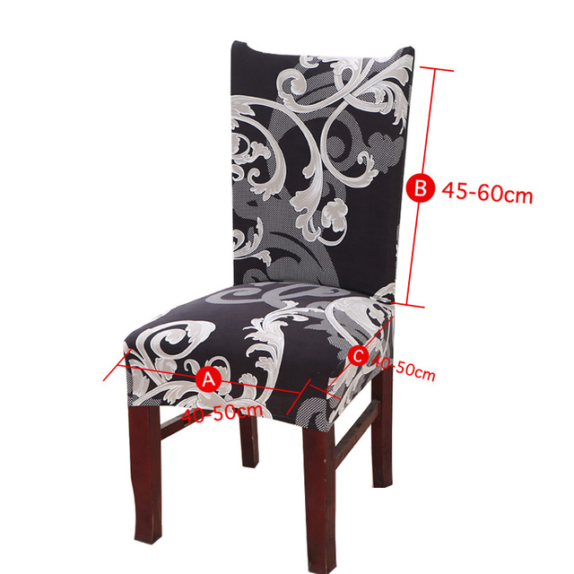 Floral Printing Stretch Elastic Chair Covers | online brands