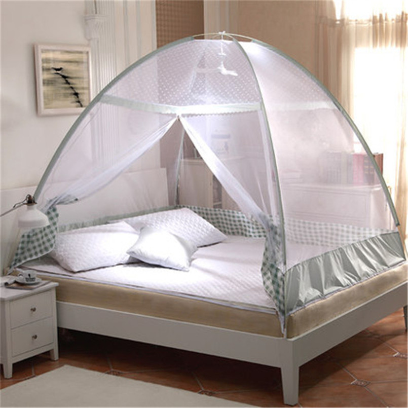 Buy single bed mosquito net new round for Bed with mosquito net decoration