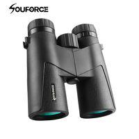 Waterproof HD 8X42/10X42 Binoculars Telescope with FMC Green Film fit Outdoor Watching and Hunting Camping