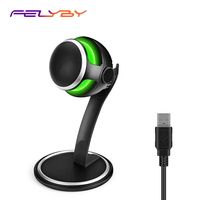 FELYBY STORM Professional Studio Condenser Games Microphone for Chatting/YouTube/Recording Monitoring Microfone Desktop Mic