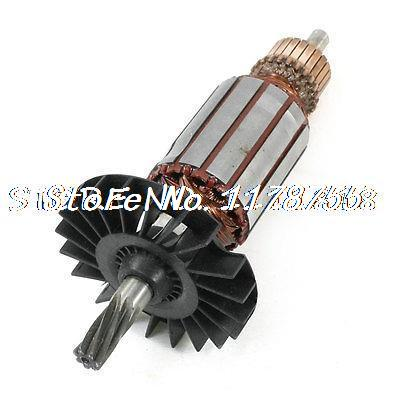 цена на AC 220V 7T Shaft Motor Armature Rotor for Bosch GBH2-26DRE Electric Hammer