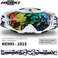 NENKI Unisex Ski Snowboard Gafas de Motocicleta de Carreras Gafas Motocross Bike Cross Country Flexible Gafas Lente Reemplazable