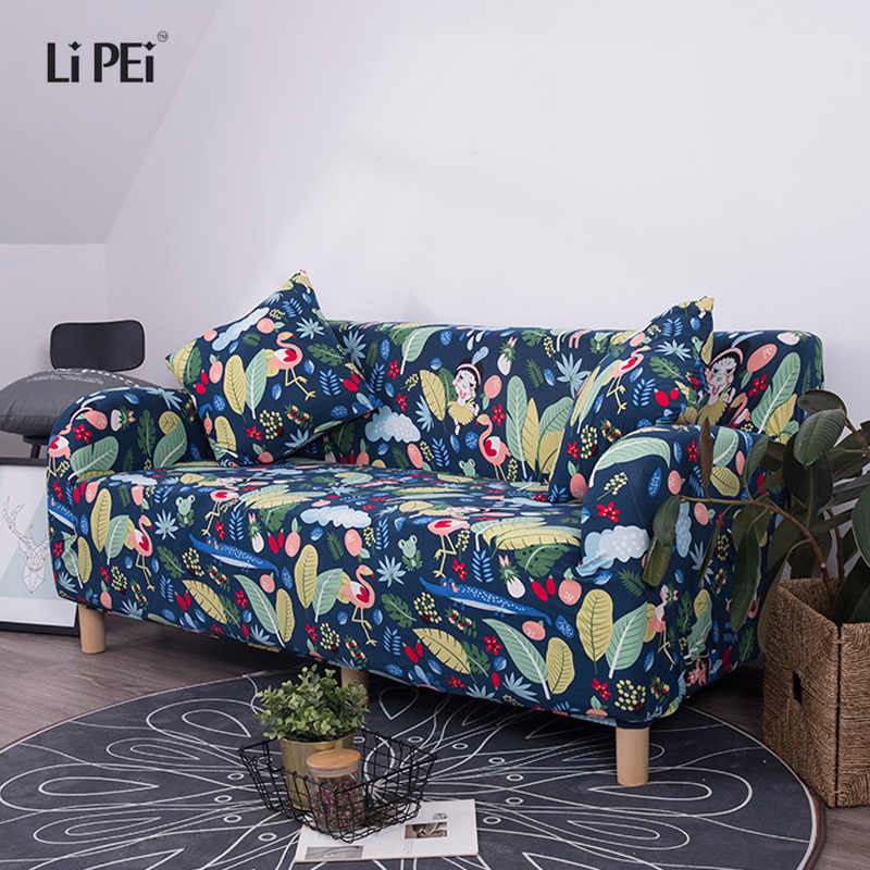 Summer style Sofa Covers  Elastic Stretch Universal Sectional Throw Couch Corner Cover Cases for Furniture Armchairs Home decora