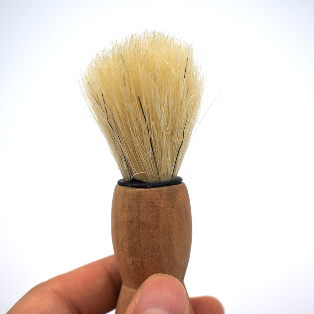 Wood Handle Badger Hair Beard Shaving Brush For Men Mustache Barber Tool Cheap