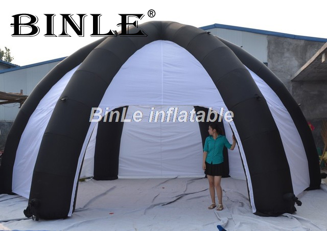 Cheap portable 6m inflatable spider tent dome shaped inflatable car tent garage tent with walls for sale & Cheap portable 6m inflatable spider tent dome shaped inflatable car ...