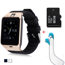 High Quality GV18 Bluetooth Smart Watch Support GSM Sim TF Card for Android Samsung phone support G-SENSOR Caculator Smart Watch