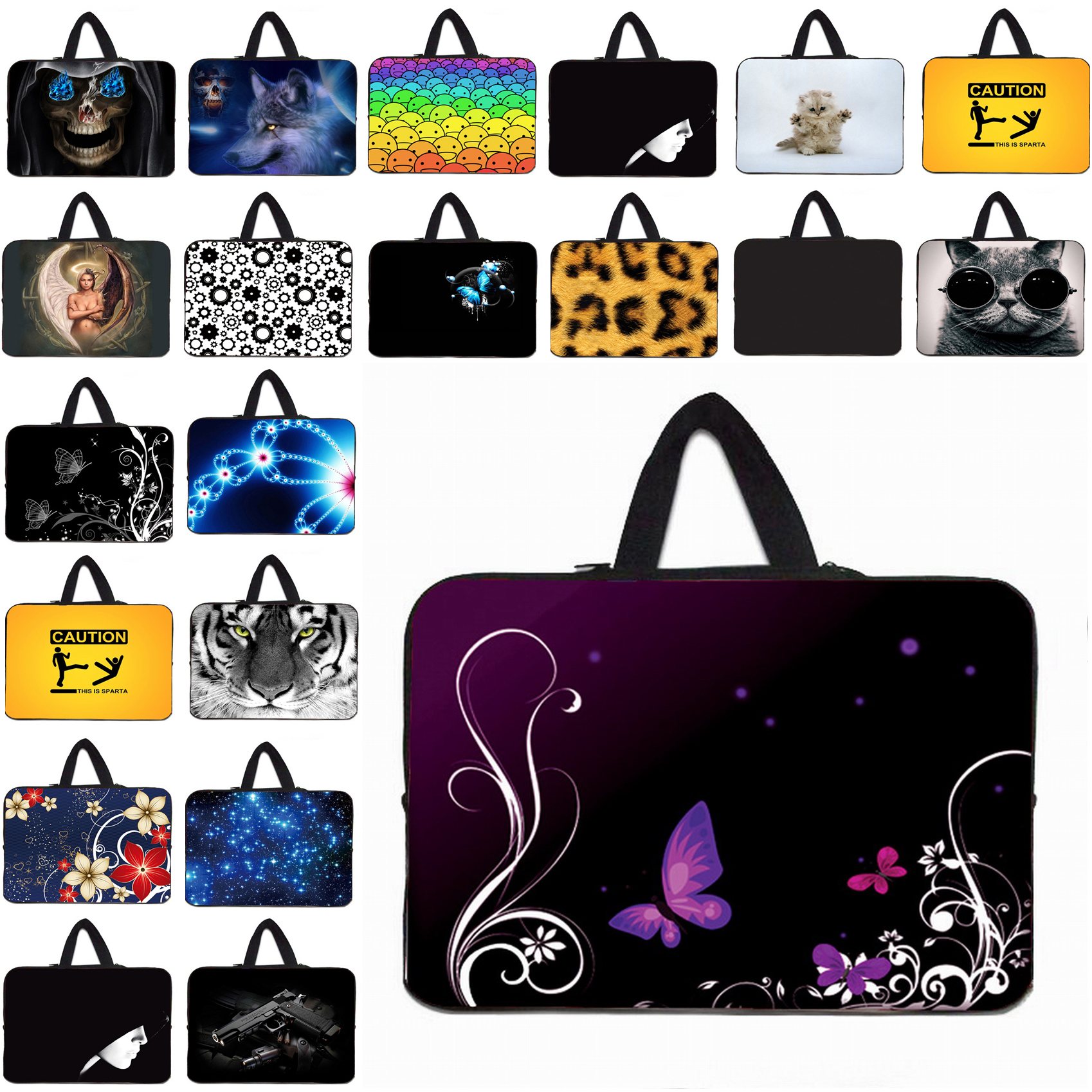 Anti-scratch Neoprene Laptop Bag 13.3 12.8 12.9 13 Protective Briefcase For Apple Macbook Air 13 Mini PC Notebook Pouch Cases