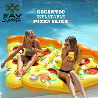 180cm Giant Inflatable Flamingo Pool Float Adult Tube Raft Pizza Swimming Rings Seat Float Summer Pool Fun Toys