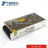 145W 24V 6A Single Output Switching power supply for LED Strip light AC to DC SMPS