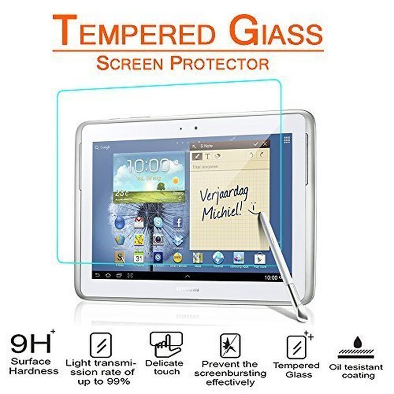 Screen Protector For Samsung Galaxy Tab 2 10.1inch Tempered Glass P5100 P5110 P5113 Note 10.1inch N8000 N8010 N8013 Tablet Glass
