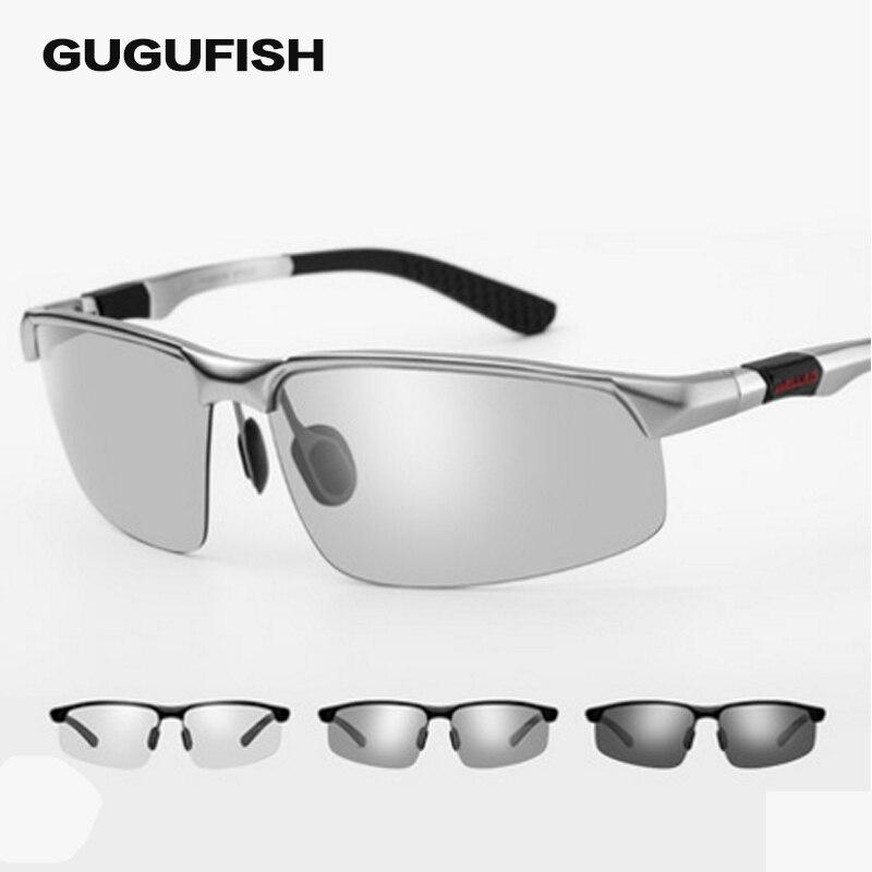 Óculos de Pesca gugufish dois-cor óculos de sol Característica   Polarized  Sunglasses ad53aca41b