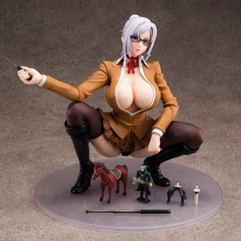 Sexy Girl Anime Genco Union Creative Prison School Meiko Shiraki Sexy PVC Action Figure Collectible Toy Japanese Kids Decor 17CM genco queen