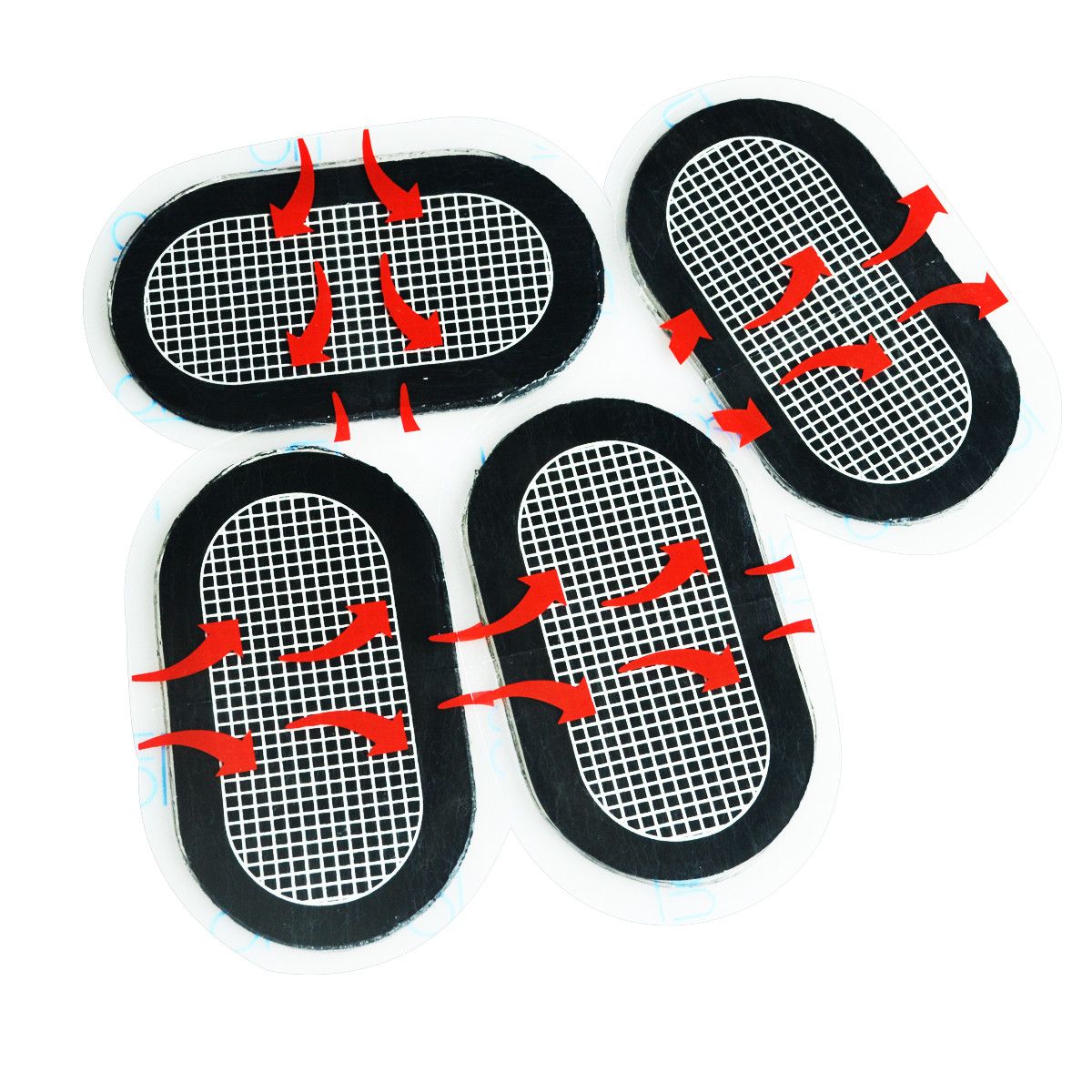 5packs/lot Elysaid Top Quality Replacement Arm Toning Pads Belt Gel Replace Unisex Patch Adhesive Electrode For Tens Training Commodities Are Available Without Restriction Massage & Relaxation