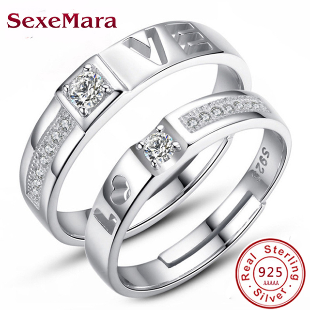 Star Wars Rings I Love You I Know Couple Rings 925 silver Lovers