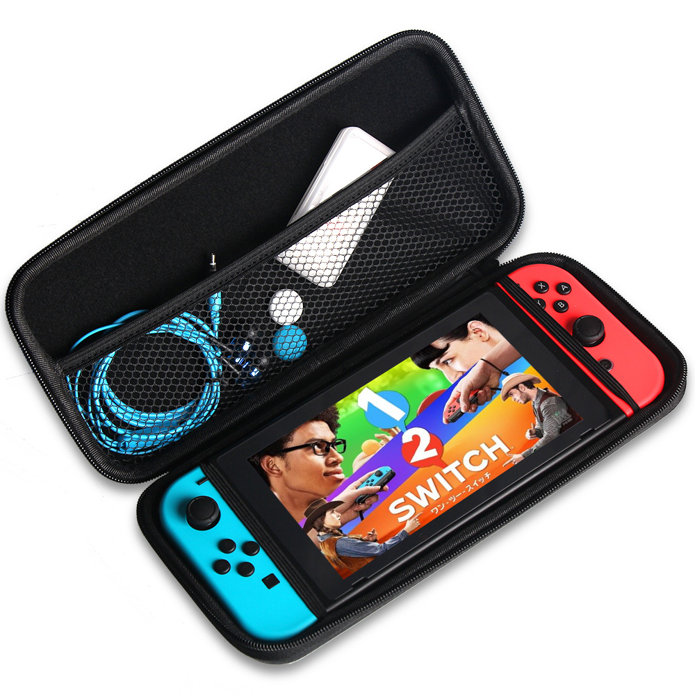 For Nintend Swicth EVA Protective Hard Case Shell Travel Carrying Bag Holder Pouch For Nintend Switch Console With Hand Strap
