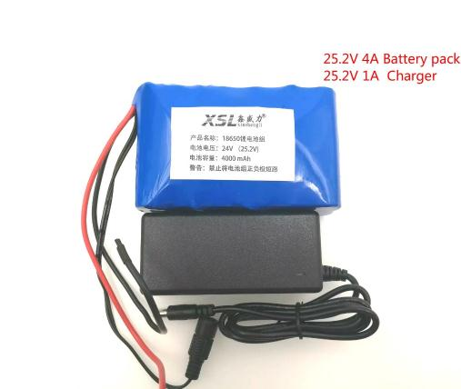 24V 4Ah 7S2P 18650 Battery li-ion battery 29.4v 4000mAh electric bicycle moped /electric/lithium ion battery pack+2A Charger liitokala 7s6p new victory 24v 12ah lithium battery electric bicycle 18650 24 v 29 4v li ion battery 29 4v 2a charger