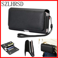 Double Cell Phone Waist Pack For Nomu S20 Pouch Bag With Belt Clip Holster Case